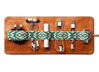 Organizer - Herringbone TechRoll - All-in-One - MANTIDY