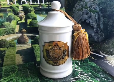 Candles - Apothecary jar from Limoges. - SECRET D'APOTHICAIRE