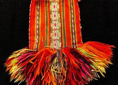Objets de décoration - Chuspa, Ancien sacs a feuilles de coca - NATIVO ARGENTINO