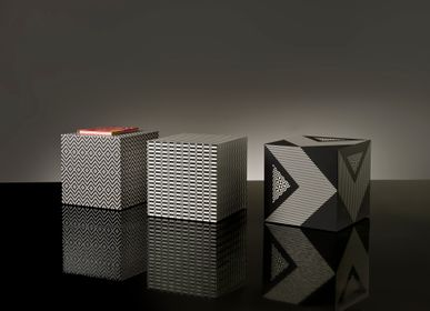 """Coffee tables - GRAPHIC CUBES """"TERRA"""" - EXTROVERSO"""