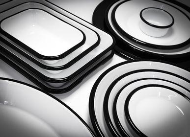 Assiettes au quotidien - Rubienda Plates  - ELIFLE ENAMELWARE