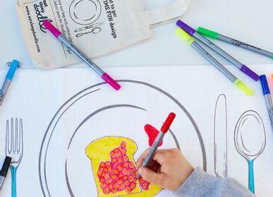 Placemats - doodle plate placemat to go - EATSLEEPDOODLE