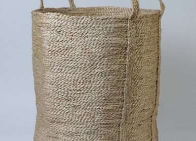 Bathroom storage -  Round jute basket - MAISON BENGAL