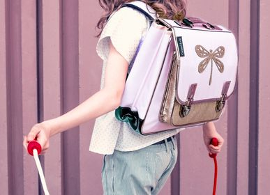 Children's bags and backpacks - SATCHEL PINK DRAGONFLY - CARAMEL&CIE