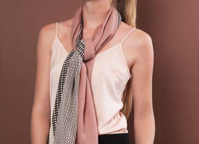 Scarves - Cashmere & Silk Najda Rose scarf · Florenz  - FLORENZ