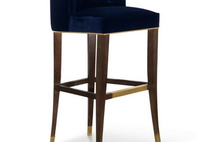 Chaises - CHAISE DE BAR BOURBON RARE - BRABBU DESIGN FORCES