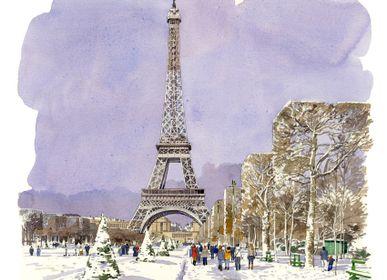 Stationery - carte aquarelle de Fabrice Moireau. - PHENICIA