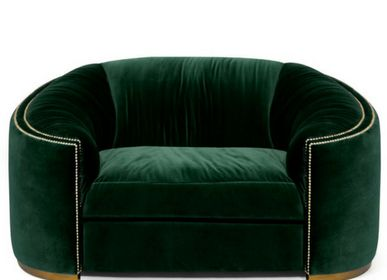 Small sofas - WALES Single Sofa - BRABBU DESIGN FORCES