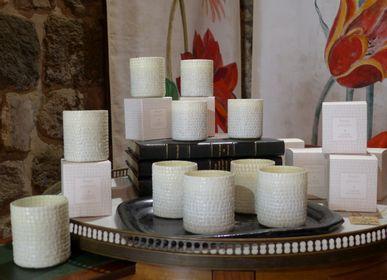 Candles - ETOLE HERBIER EN ETAMINE DE LIN - LE JARDIN DE MON GRAND-PÈRE