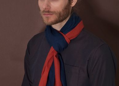 Scarves - Bicolor Cashmere scarf - FLORENZ