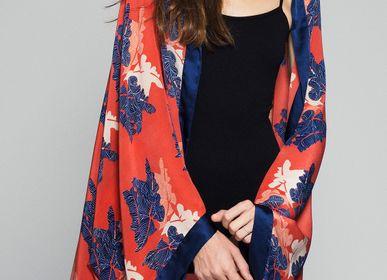 Scarves - Kimono scarf Martina Red - FLORENZ