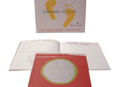 Stationery store - Journal de naissance recyclé - PATRICIA DORÉ