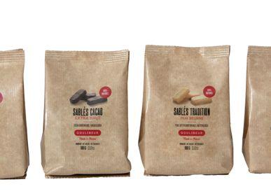 Biscuits - SABLÉ CITRON & GINGEMBRE - VRAC EN SACHET KRAFT - GOULIBEUR