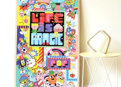 Creative Hobbies - Poster +1600 Stickers - STREET ART - POPPIK