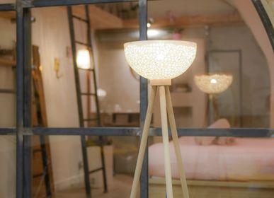 Céramique - Lampadaire - Lumière Intérieure - LOUPMANA BY LOVO MURIEL