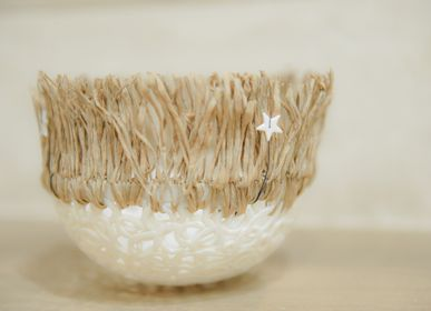 Ceramic - Decoration object - Wood with the stars - LOUPMANA BY LOVO MURIEL