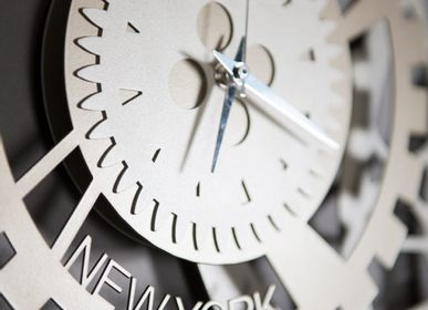 Clocks - Fuso Meccano Wall Clock - ARTI E MESTIERI