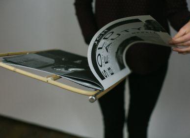 Stationery - Newspaper Holder 50 cm, Original Viennese Design  - THOMAS POGANITSCH DESIGN