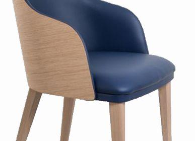 Chairs - Bridge Wood backrest OSCAR - PERROUIN 1875