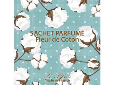 Home fragrances - SCENTED SACHET COTTON FLOWER LE BLANC - LE BLANC