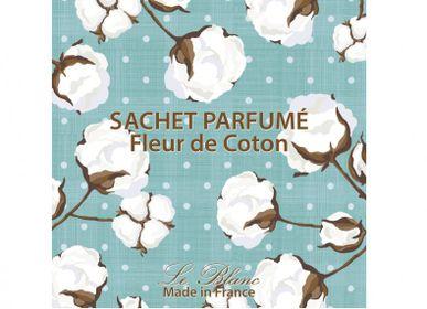 Parfums d'intérieur - SACHET PARFUME FLEUR DE COTON LE BLANC - LE BLANC