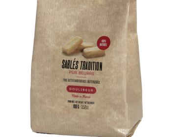 Biscuits - SABLÉ TRADITION PUR BEURRE - VRAC EN SACHET KRAFT - GOULIBEUR