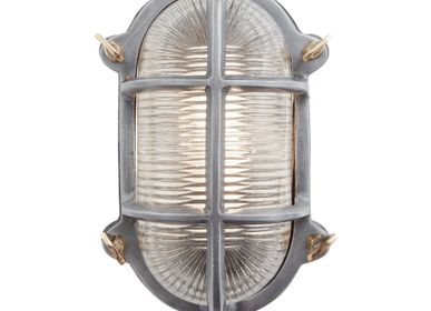 Wall lamps - Bulkhead Oval Wall Light/Flush Mount - 6 Inch - INDUSTVILLE