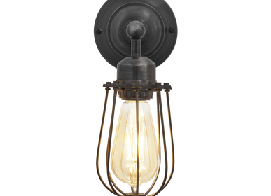 Suspensions - Orlando Wire Cage Wall Light - INDUSTVILLE