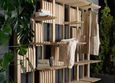 Shelves - Smart system of modular shelves GATE - MAINO. UKRAINIAN DESIGN
