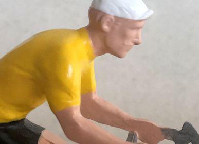 Gift - Bernard & Eddy les petits cyclistes en métal peints à la main - BERNARD & EDDY