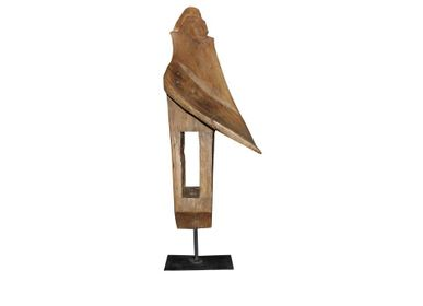 Sculptures, statuettes and miniatures - wooden decoration - BELLINO DULCE FORMA