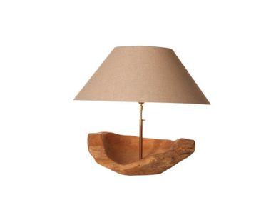 Table lamps - kruti natural - BELLINO DULCE FORMA