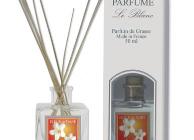 Home fragrances - 50ml Reed Diffuser TIARE FLOWER - LE BLANC