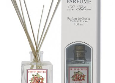 Home fragrances - 100ml Reed Diffuser RED FRUIT - LE BLANC