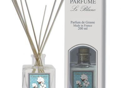 Home fragrances - 200ml Reed Diffuser COTTON - LE BLANC