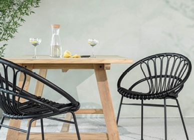 Lawn chairs - Roxanne dining chair - VINCENT SHEPPARD