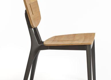 Lawn chairs - Diuna chair teak/aluminium - OASIQ