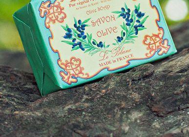 Savons - Savon Olive 100g illustré - LE BLANC
