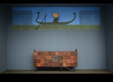 Trompe-l'œil pour murs - Panoramique et Trompe-l'oeil - EMERY&CIE