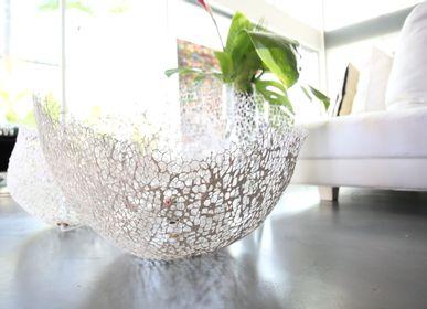 Objets de décoration -  nid d'hirondelle luminaire  - NATALIE SANZACHE