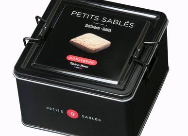 Biscuits - BOITE FER PETITS SABLÉS - 4 PARFUMS - GOULIBEUR