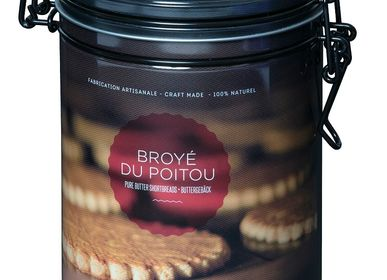Biscuits - BOITE FER TRADITION - GOULIBEUR