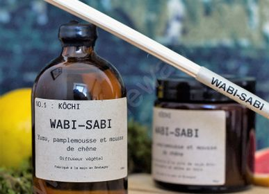 Objets de décoration - Diffuseur végétal Wabi-Sabi NO.1 : Kochi - WABI-SABI