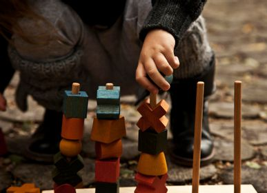 Decorative objects - STACKING TOY - WOODEN STORY