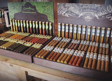 Spices - DISPLAY STAND SPICE BLENDS  - ALCHIMIE - LE MONDE EN TUBE 100% ÉPICES