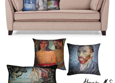 Cushions - Masters of Art Cushions - ALEXANDRE M-S