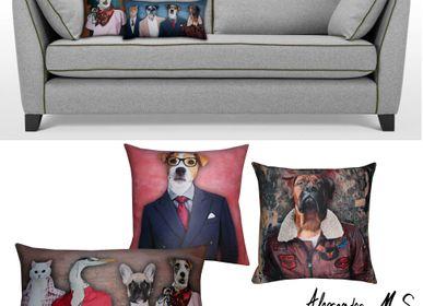 Cushions - Miaou Wouaf Story Cushions - ALEXANDRE M-S