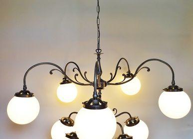 Verre d'art - Lustres baroques, lustre pour hotel, lustre pour restaurant - TIEF