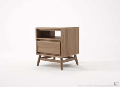 Night tables - Twist Bed Side Table - KARPENTER