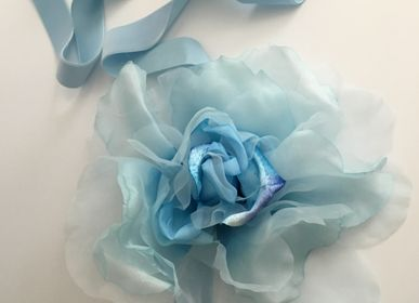 Scarves - Love Sash - Blue - LOVE LIVES HERE OX.